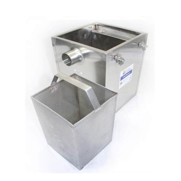 Traps food waste from sinks